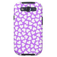 White Hearts - Samsung Galaxy S3 Case