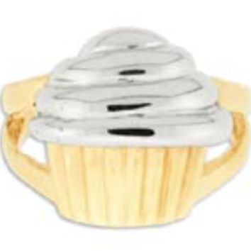 14K Gold Cupcake Ring: Personalized Boutique, Inc.