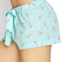 Flamingo Sleep Shorts