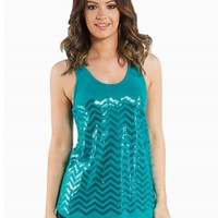 SEQUIN CHEVRON BASIC