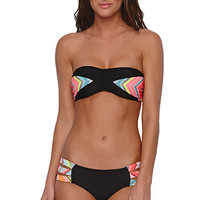 Rip Curl Tribal Quest Bandeau Top - Womens Swimwear - Black -