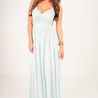 RESTOCK: Wherever Love Goes Dress: Light Mint