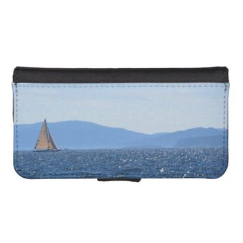 Sailboat iPhone 5/5s Wallet Case