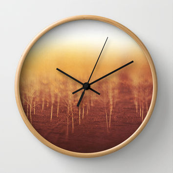 Musing Wall Clock by SensualPatterns