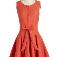 ModCloth Mid-length Sleeveless Fit & Flare Flit and Flare Dress