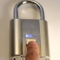 iFingerLock® Fingerprint Biometric Padlock