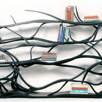 Hand Carved Shelving Unit: Metamorphosis by Sebastian Errazuriz