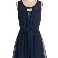 ModCloth Mid-length Sleeveless A-line Affinity for Art Dress