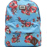 Vans - Star Wars Yoda Aloha School Backpack - Mens Backpacks - Blue - One