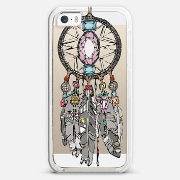 gemstone dreamcatcher transparent iPhone 5s case by Sharon Turner | Casetify  get $5 off using code: 5A7DC3