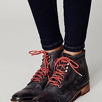 Free People Womens Skyfall Lace Up Boot