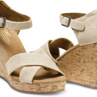 Sierra Women's Strappy Wedges | TOMS.com
