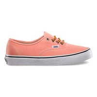 Vans Brushed Twill Authentic (fresh salmon)