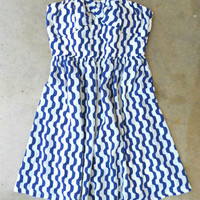 Mesmerizing Royal Lines Dress [2789] - &amp;#36;43.00 : Vintage Inspired Clothing &amp; Affordable Summer Dresses, deloom | Modern. Vintage. Crafted.