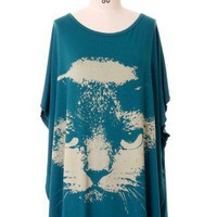 Kitten Print Loose T-Shirt - New Arrivals - Retro, Indie and Unique Fashion