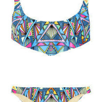 Mara Hoffman|Inca printed bikini