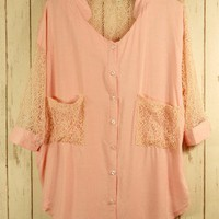 Best Lace Forward Shirt - New Arrivals - Retro, Indie and Unique Fashion
