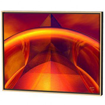 Menaul Fine Art Orange Reflections Limited Edition Framed Canvas - Scott J. Menaul - AB2-013 - All Wall Art - Wall Art & Coverings - Decor