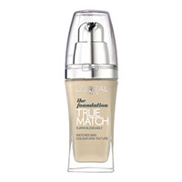 N1 Ivory True Match liquid foundation by L'Oréal Paris