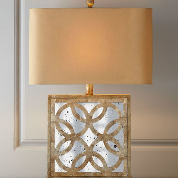 Montecito Mirrored Table Lamp