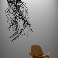 Vinyl Wall Decal Sticker JellyFish Deep Sea Ocean by Stickerbrand