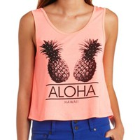 Pineapples Aloha Swing Tank Top