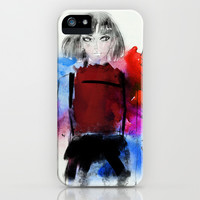 ミカサ・アッカーマン iPhone & iPod Case by Sara Eshak