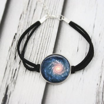 Galaxy Bracelet, Nebula Jewelry, Space Jewelry