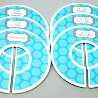 FINISHED PRODUCT Baby Closet Dividers Baby Shower Gift Closet Organizer  CD19