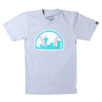 Casual Industrees Sea Baseball T-Shirt