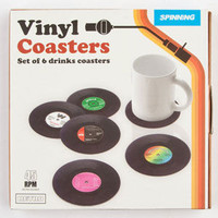 Vinyl Coasters Multi One Size For Men 24579395701