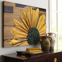 Sunflower Wall Panel