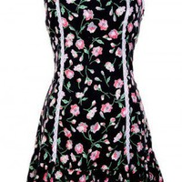 Black Floral Dress - Floral Dress | UsTrendy