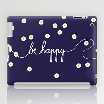 HAPPY DAISY iPad Case by Monika Strigel | Society6