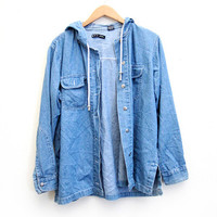 Rain, Rain Go Away Denim Jacket
