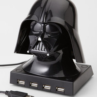 FredFlare.com - Darth Vader USB Hub With Sounds - Star Wars 4 Port USB Hub