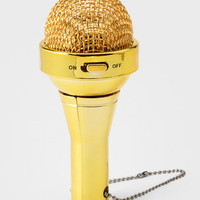 FredFlare.com - Microphone MP3 Speaker - Mini Microphone Speaker