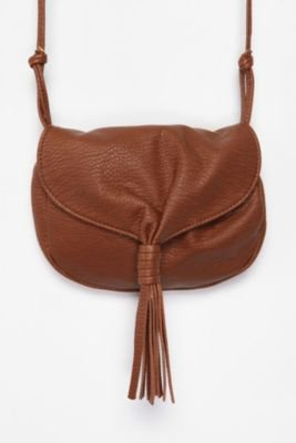 UrbanOutfitters.com &gt; Ecote Tassel Crossbody Bag
