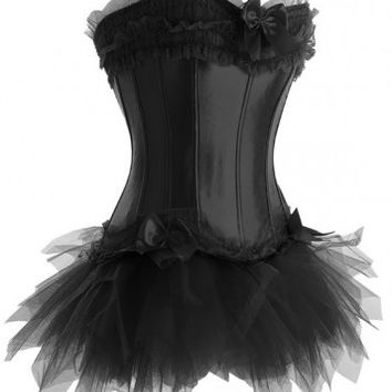 Princess [black] CORSET & TUTU SET