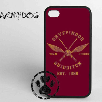 Harry potter gryffindor quiddtch team iPhone Case For iPhone 4/4s/5/5s/5C and Samsung Galaxy S3/S4/S5
