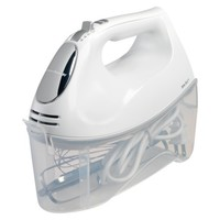 Hamilton Beach® 6 Speed White Hand Mixer with Case