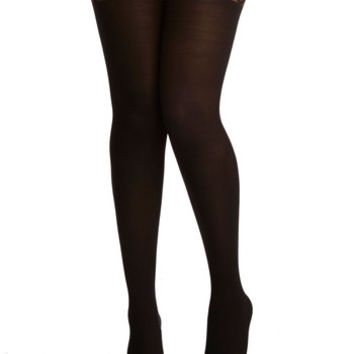ModCloth Pinup, Vintage Inspired, 40s, 50s, French Metropolitan Meet-Up Tights