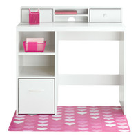 Leslie Desk, White