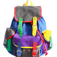 Lazy Oaf | Colour Block Rucksack
