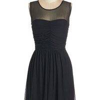Jack by BB Dakota LBD Sleeveless A-line Night and Sway Dress