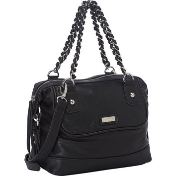 kensie Chain Link Medium Satchel - eBags.com