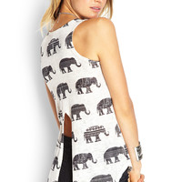 Vented-Back Elephant Top