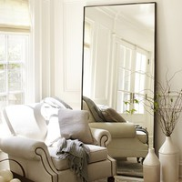 Oversized Leaning Floor Mirror
