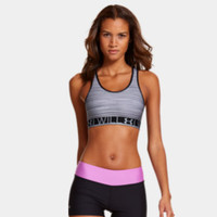Women's UA HeatGear Alpha Printed Sports Bra