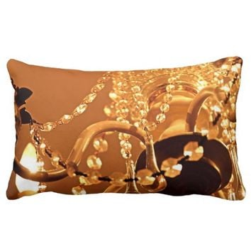 Bling Me Baby Lumbar Pillow